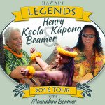 Keola Beamer and Henry Kapono Tour 2016