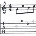 BEG-14: Tablature Exercise #1