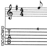 BEG-15: Tablature Exercise #2