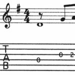 BEG-16: Tablature Exercise #3