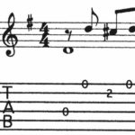 BEG-17: Tablature Exercise #4
