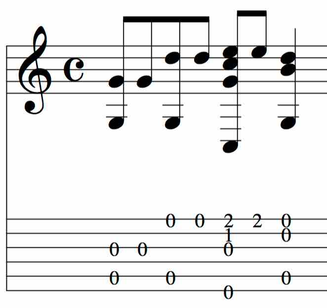 BEG-19: Tablature Exercise #5