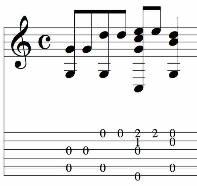 BEG-19: Tablature Exercise #5