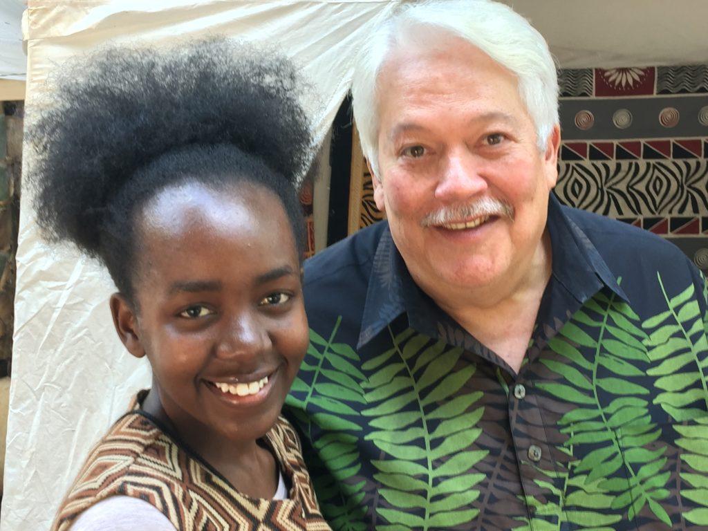 Sharing Aloha in Harare, Zimbabwe, Africa.