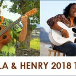 Keola Beamer and Henry Kapono Tour January 2018