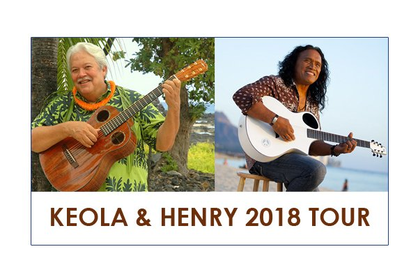 image of keola beamer and henry kapono for the 2018 tour